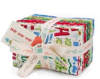 Ho! Ho! Ho! by Deb Strain for Moda - F8 Factory Precut