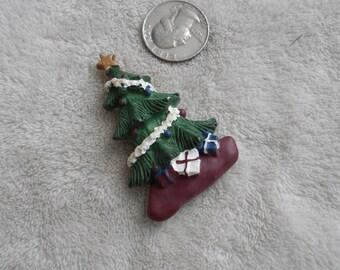 Vtg Pin-Christmas Tree-P3808