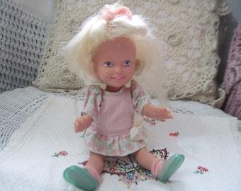 Dolly Surprise 1987 Playskool Hair grows blond, Growing Hair Doll, Vintage Doll, Doll, Toy Doll, Vintage Toy Doll, Toys, Vintage Toys,   :)S