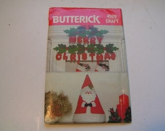 Vintage Butterick Pattern Craft 4525
