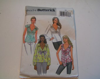 Butterick Pattern B4454 Miss Top and Flower