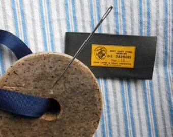 WW 2 British Cast Steel Darner Needles, group of 6 pcs