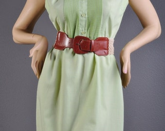 Gorgeous Vintage Country Miss Mint Green Dress