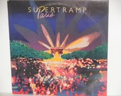 "Supertramp Paris - Live Album - Prog Rock - ""Take the Long Way Home "" - A&M Records 1980 - Vintage Gatefold Vinyl LP Record Album"