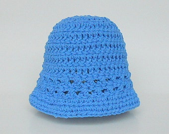 Baby  Blue Hat  Boy  Spring Cotton  Cap 9 Months To 2 Years Old Infant Girl  Summer  Beanie