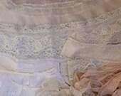 Lace Blowout Sale Lot of Salvaged Slip Lingerie Lace Edges