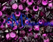 900pcs 3mm ss12 Dark Purple #20 Flat Back Round Resin Rhinestones - MajorCrafts Scrapboooking Gems DIY Strass Faceted Diamante Craft Beads