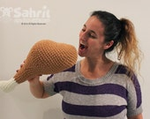 Instant Download Pattern Turkey Chicken Leg Drumstick Thanksgiving Plush Pillow Toy