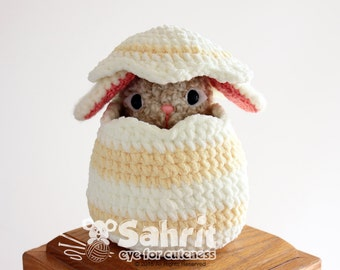 PATTERN Instant Download Big Easter Egg Crochet Gift