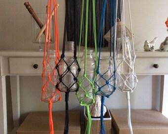 Macrame pot hanger -  Large