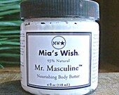 Mr. Masculine Body Butter, Masculine Lotion, Mens Moisturizer, Cologne Scent, Manly Body Butter, Man Lotion Whipped Cocoa Butter Shea Butter