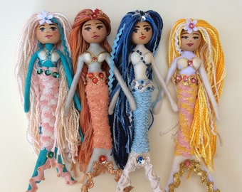Mermaid Doll Tutorial / Pattern