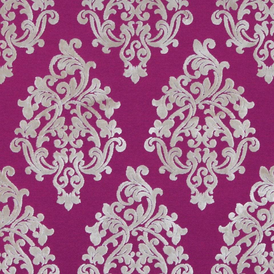 Purple Velvet Damask Wallpaper Home Design