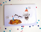 Papa Francesco birthday card