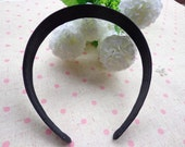 SALE--10 pcs Satin Headbands-- 25mm Wide
