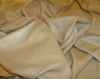 STROHEIM & ROMANN LANA Woven Silk Fabric Remnants Beige