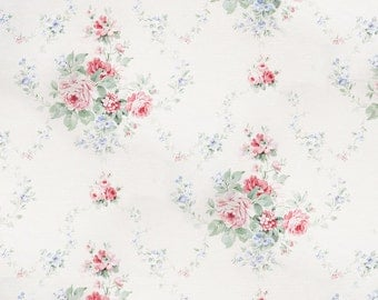 Soft Floral Canvas - Vinyl Photography Backdrop Photo Prop
