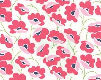 Color Theory Poppies - Pink Moda Fabrics 10830 11