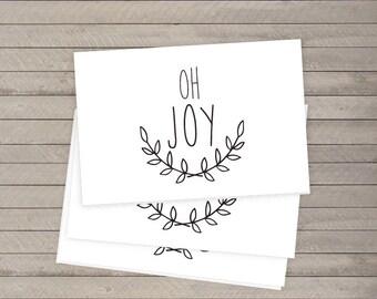 Oh Joy Folded Printable Card