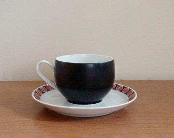 Vintage Ben Seibel Mikasa Pivotal Ovide Cup and Saucer