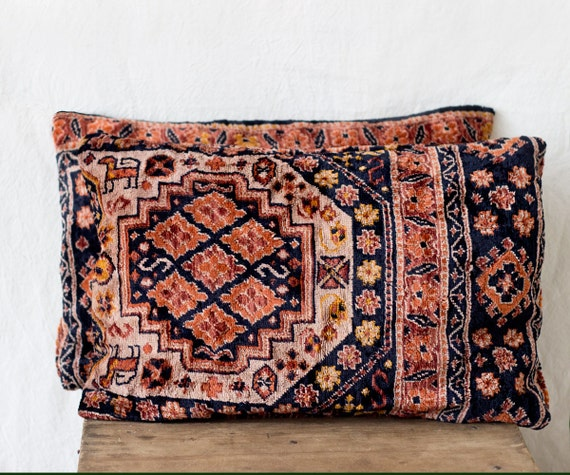 Velour Throw Pillows : velour pillows Uzbek pillow 12 x 18 TWO decorative throw