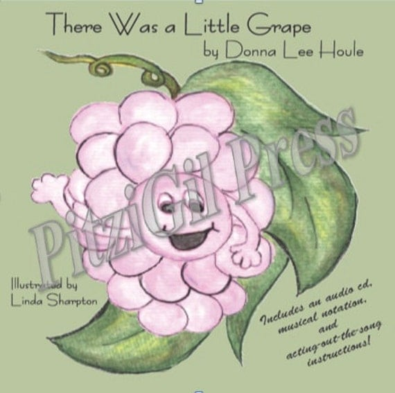 Book, Children's: There Was a Little Grape