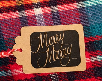 Gift Tags for Christmas (qty:12)