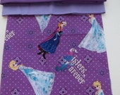 Frozen Fabric Pillowcases, she will love sleeping with the sisters....monogrammed