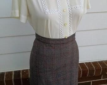 Vintage wiggle skirt - S