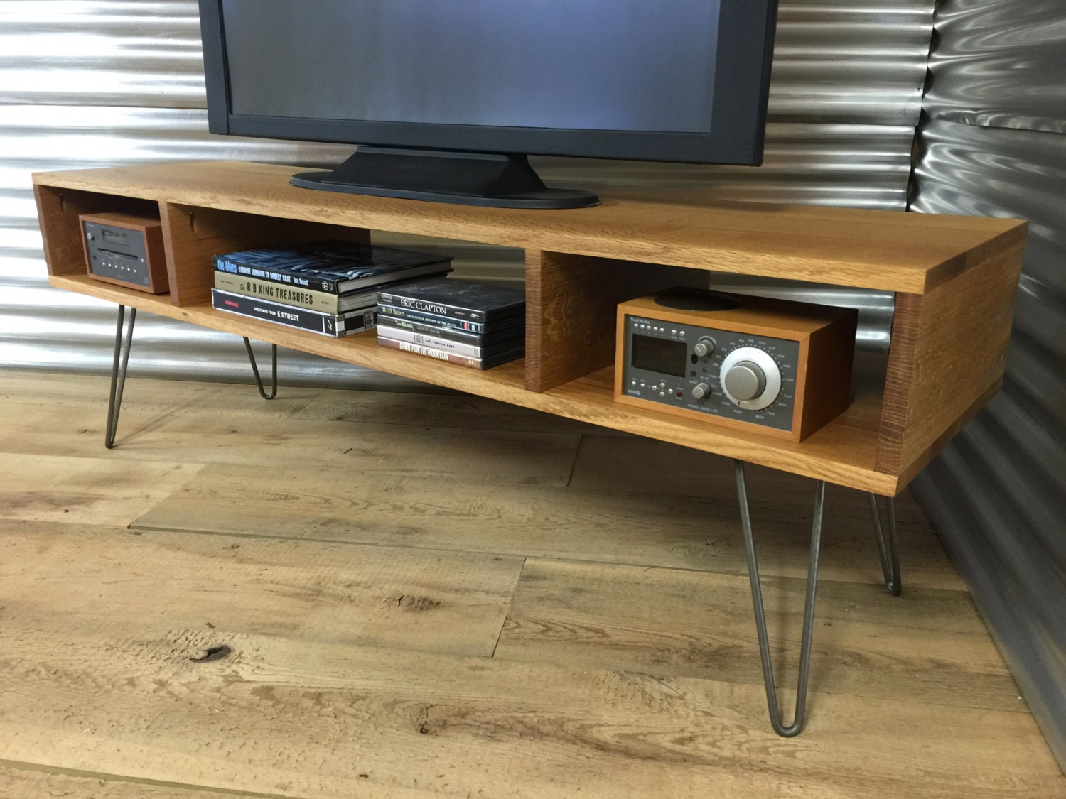 mid century modern tv stand console by scottcassin