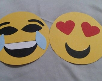 Handmade Emoji Party Invitations