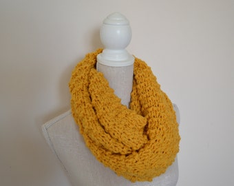 Knitting pattern ~ Quick Chunky Cowl