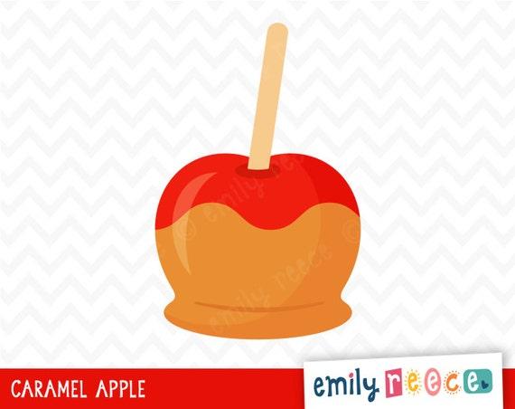caramel apple clipart images - photo #11
