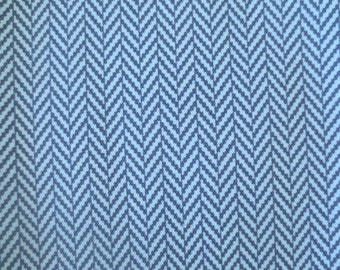 Outdoor Pillow Cover / Indoor Pillow Cover in a Blue Chevron Zig Zag Print / Blue Pillow Cover / Navy Pillow Cover