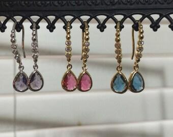 Small Fancy Drop Earrings
