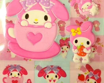 Japanese / Korean Puffy Sticker - My Melody