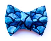 The Mermaid Cat and Dog Bow Tie