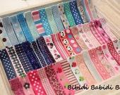 Grab Bag -10 hair clips- Girls hairclips - Bag of 10 various clips