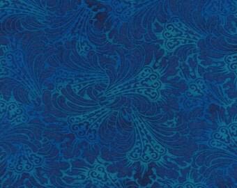 Kona Bay Fabrics - Shadowland by Jason Yenter in Ocean SHAD-02 by the Yard