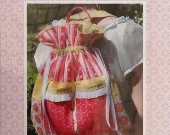 Broderie Backpack Pattern RQ187 by Rosalie Quinlan Designs