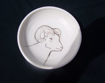 Big Horn Sheep bowl