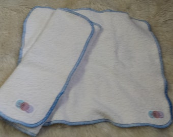 Overnight Diaper Insert - Heavy Trifold Insert - Organic Bamboo - Made to Order