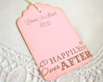 Happily Ever After Wedding Wish Tags