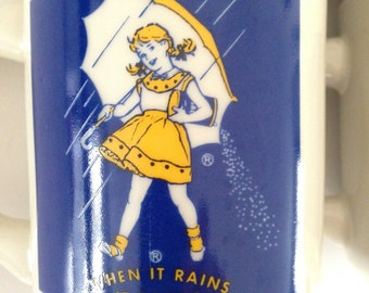 Morton Salt Collectible coffee mugs