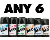 Any 6 Deodorant Your Choice Deoderant Stick Vegan Cruelty Free Natural Deodorant - Free Shipping