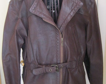 Jacket women leather