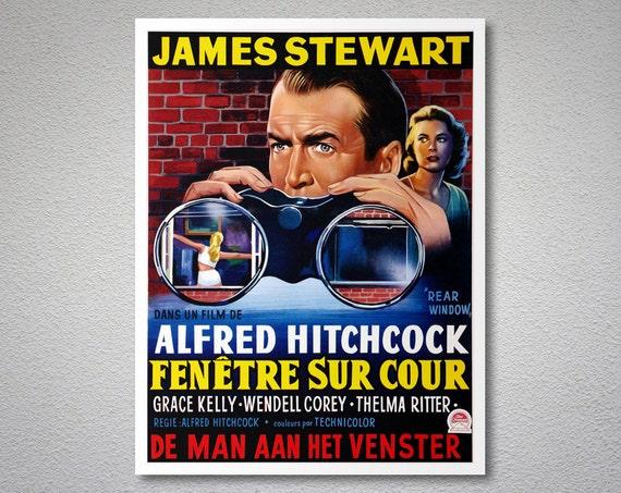 Fenetre sur cour rare window movie poster poster paper for Fenetre sur cour film