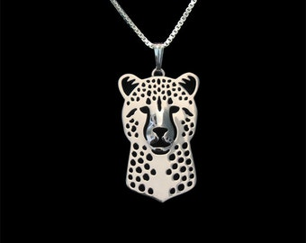Cheetah jewelry - sterling silver