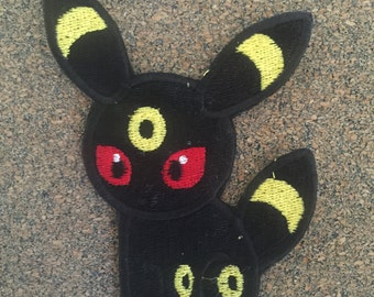 Pokemon Umbreon Iron on or sew on Patches