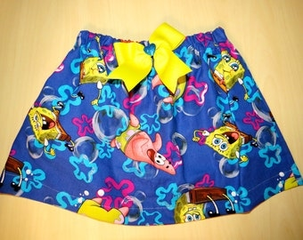 Kid's Spongebob Squarepants Length Skirt